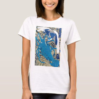 Japanese Lobster and Bird Painting c. 1800's T-Shirt