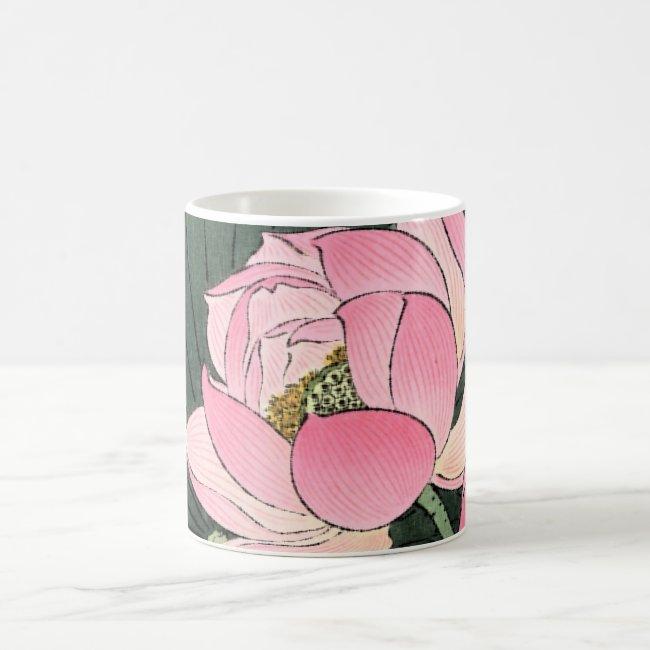 JAPANESE LOTUS FLOWER Classic Mug