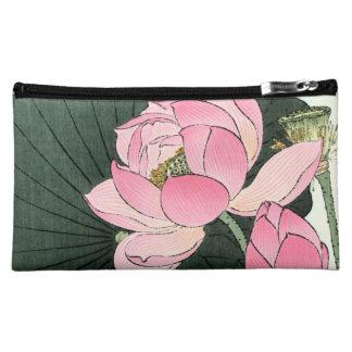 JAPANESE LOTUS FLOWER -  Cosmetic Bag