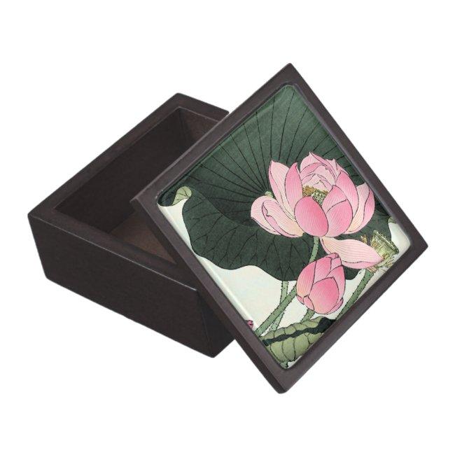 JAPANESE LOTUS FLOWER Gift Box