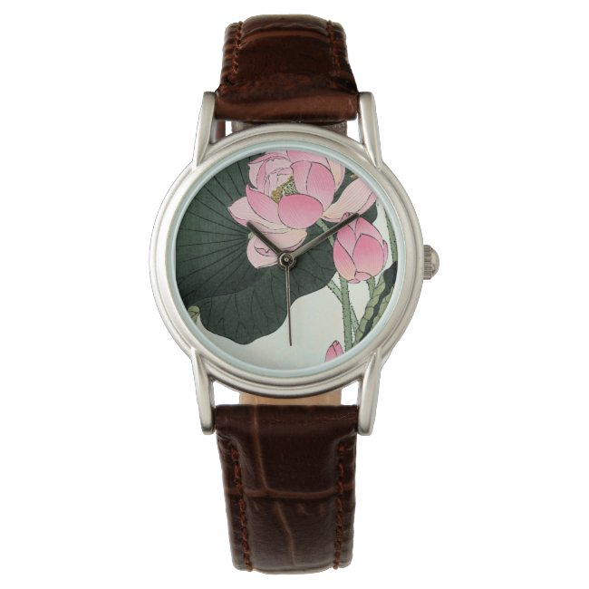 JAPANESE LOTUS FLOWER Watch