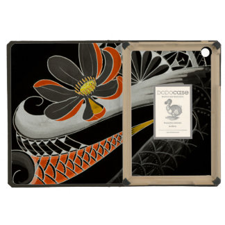 Japanese Lotus flower with cherry blossoms iPad Mini Case