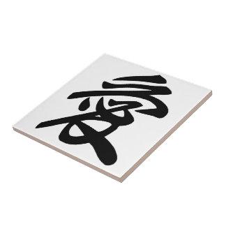 Japanese love ceramic tile
