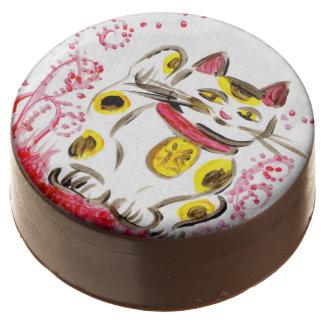 Japanese Lucky Cat Maneki Neko Cookies