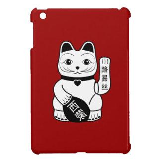Japanese Lucky Cat Pictogram iPad Mini Case