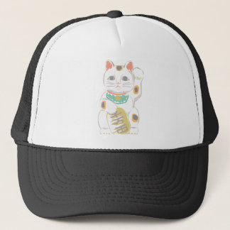 Japanese Lucky Cat Trucker Hat