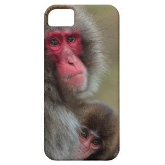 Japanese Macaque Monkeys  iPhone 5 Barely There iPhone SE/5/5s Case