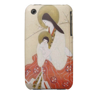 Japanese Madonna and Child Vintage iPhone 3 Case-Mate Case