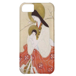 Japanese Madonna and Child Vintage Case For iPhone 5C