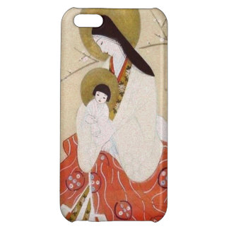 Japanese Madonna and Child Vintage Cover For iPhone 5C