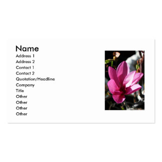 91 Blooming Magnolia Business Cards and Blooming Magnolia