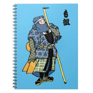 Japanese Man from Edo Notebook