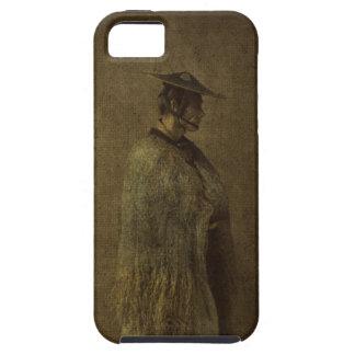 Japanese Man Winter 1866 Photograph Enhanced iPhone SE/5/5s Case