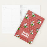 "Japanese Maneki Neko Pattern Planner<br><div class=""desc"">Keep track of your schedule with this great lucky cat planner! The Japanese Maneki Neko, or beckoning cat, is a classic icon of Japan, found in shops and restaurants to welcome in good fortune! To personalize the planner, just type your name and title in the space above, and watch the...</div>"