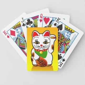 Japanese Maneki Neko Playing Cards