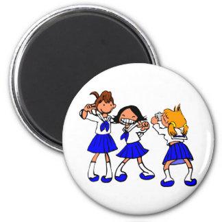 Japanese MANGA high-school girls Magnet