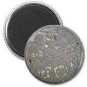 Japanese Manhole Cover Refrigerator Magnets