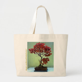 Japanese Maple Jumbo Tote Bag