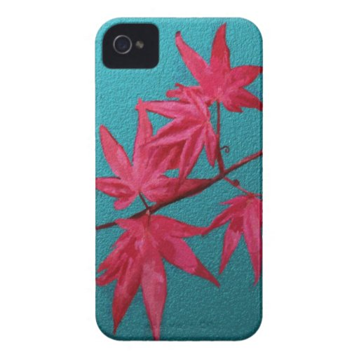 Japanese Maple iPhone 4 Case-Mate Cases