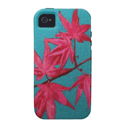 Japanese Maple Vibe iPhone 4 Case