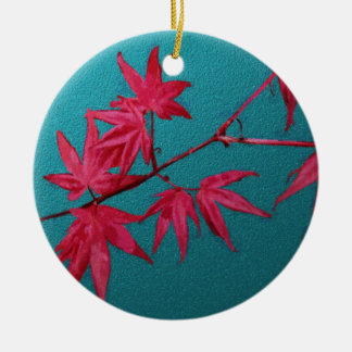 Japanese Maple Ceramic Ornament