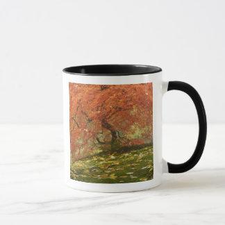 Japanese maple in fall color 3 mug