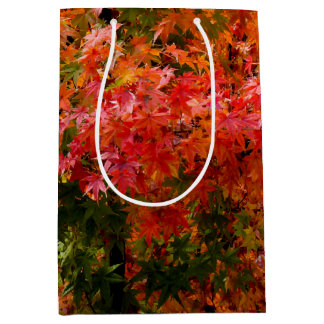 Japanese Maple in Fall Medium Gift Bag