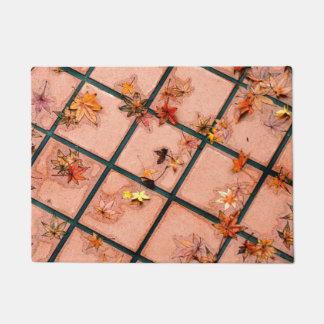 Japanese Maple Leaves Doormat