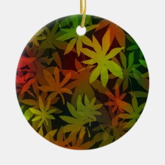 Japanese Maple Leaves Ornament