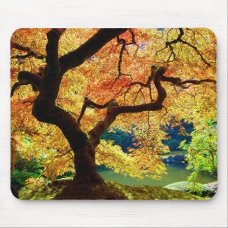 Japanese Maple Mouse Pad