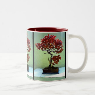 Japanese Maple Two-Tone Coffee Mug