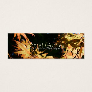 Japanese Maples 1 Autumn Business Cards
