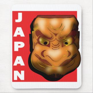 JAPANESE MASK MOUSE PAD