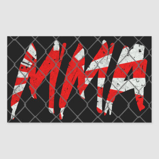 Japanese MMA Sticker