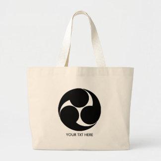 JAPANESE MON-Family crests Jumbo Tote Bag