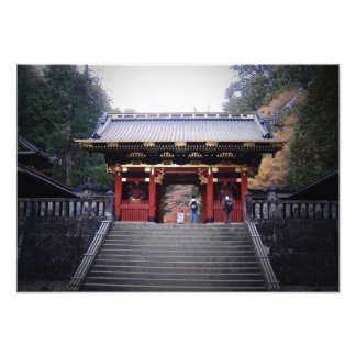 Japanese Monastery Photograph
