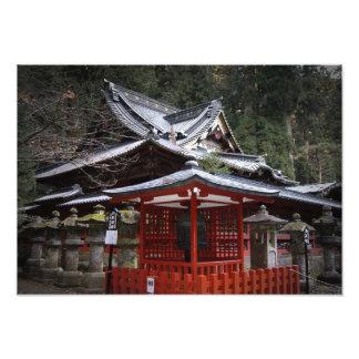 Japanese Monastery Photographic Print
