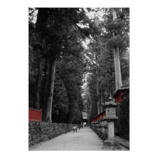 Japanese Monastery Poster