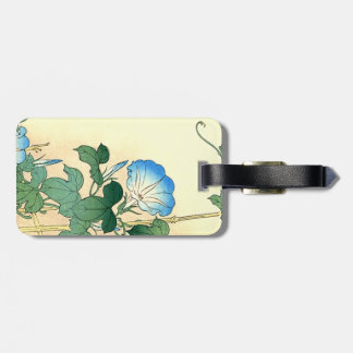 Japanese Morning Glory Flower Floral Tag