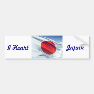 Japanese National Flag Bumper Sticker