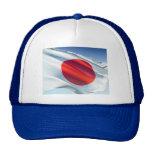 Japanese National Flag Mesh Hats