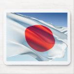 Japanese National Flag Mousepads