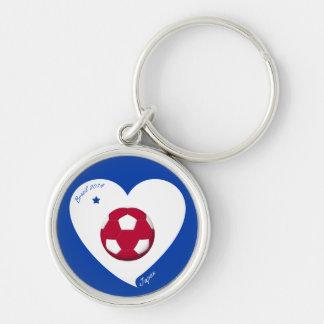 Japanese National Soccer Japan Team 2014 Nippon Key Chains