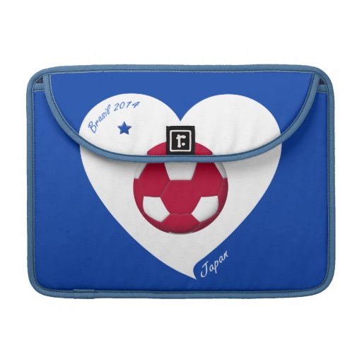 Japanese National Soccer Japan Team 2014 Nippon Sleeve For MacBooks