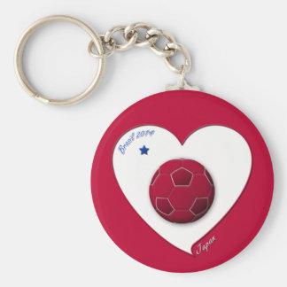 Japanese National Soccer Team, Japan 2014 Keychain