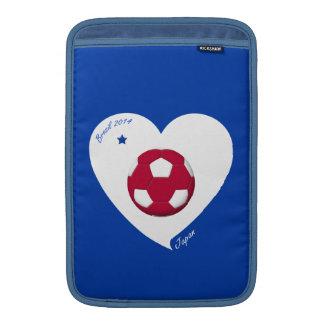 Japanese National Soccer Team Japan 2014 Nippon Fundas Para Macbook Air