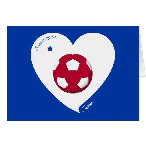 Japanese National Soccer Team Japan 2014 Nippon Tarjeton