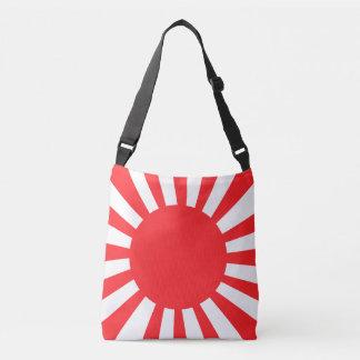 Japanese Navy Flag Crossbody Bag