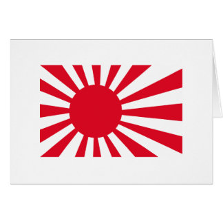 Japanese Navy Flag T-shirts and Apparel Card