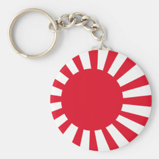 Japanese Navy Flag T-shirts and Apparel Keychain